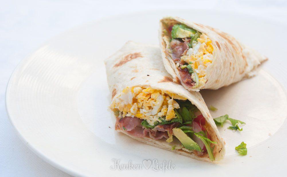 Slank & Snel: Mexicaanse ontbijtwrap