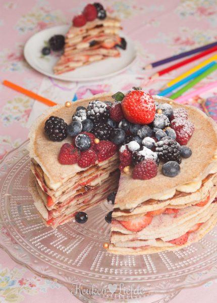 Speels & Smakelijk: pannenkoekentaart