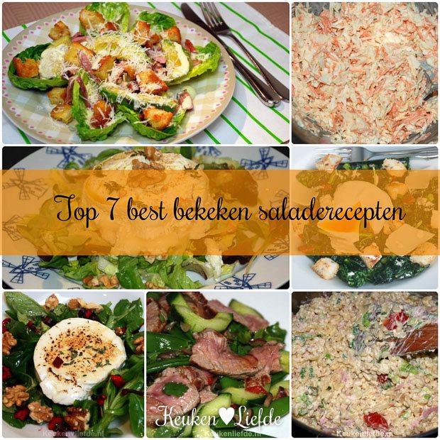 Top 7 best bekeken saladerecepten