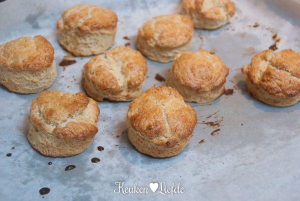 High tea: scones