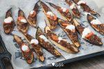 Gevulde mini-aubergine met gehakt