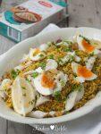 Kedgeree van Lassie Zilvervliesrijst + Spelt én quinoa