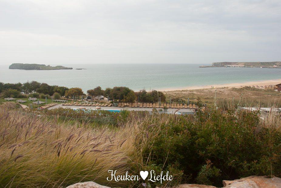Uitzicht vanaf Hotel Martinhal