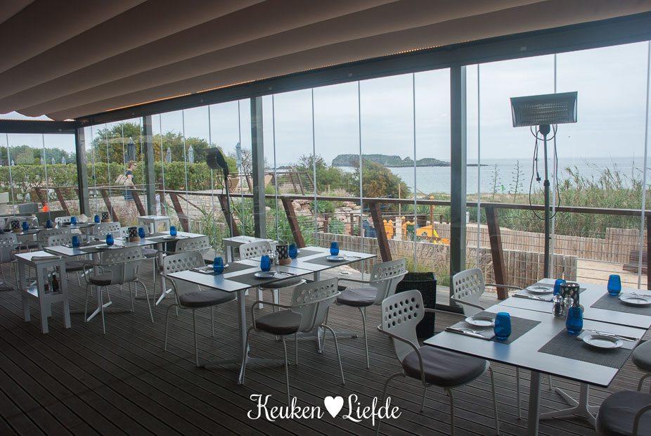 Restaurant As Dunas met prachtig uitzicht