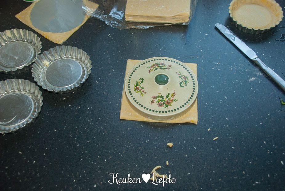 Mini-quiche met prei en oude kaas-1641