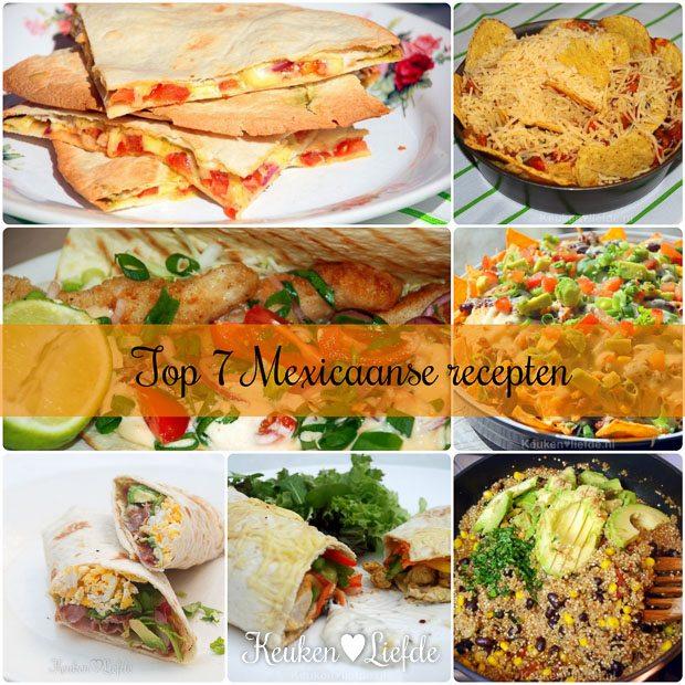 Top 7 best bekeken Mexicaanse recepten
