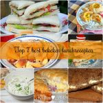 Top 7 best bekeken lunchrecepten