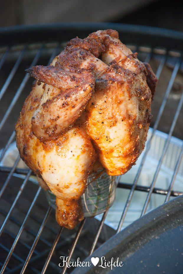 Johans Special: kip op een bierblik