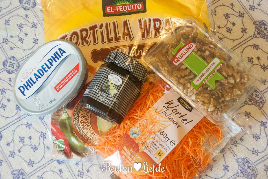 Lunchwrap met roomkaas en wortel-2703