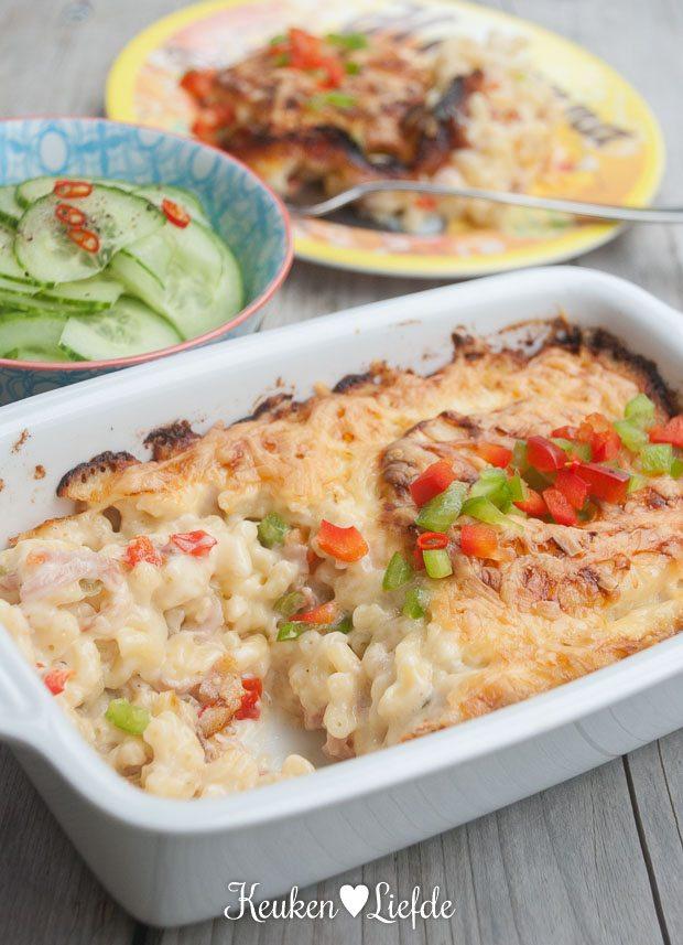 Mieks Special: mac & cheese Hawaï