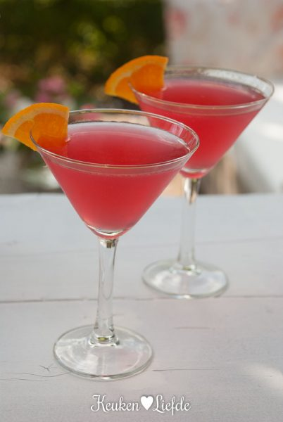 Cosmopolitan cocktail (uit Sex and the City!)