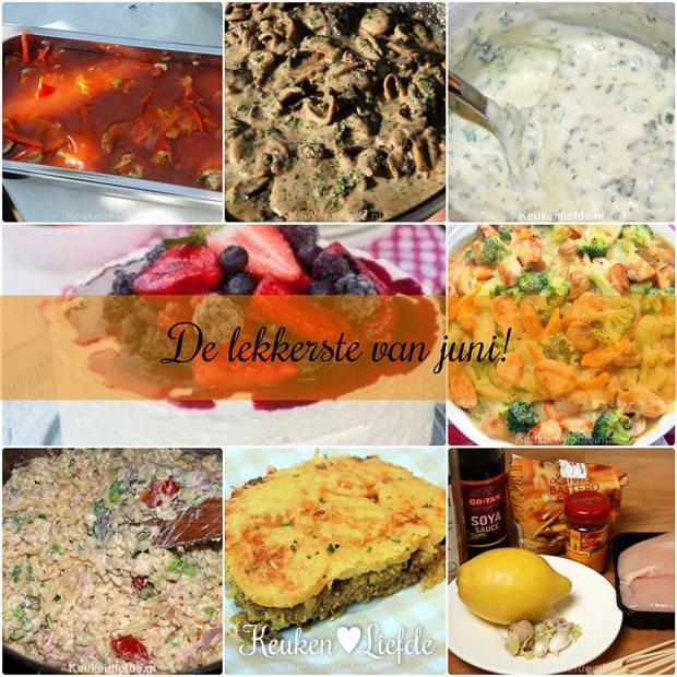 De lekkerste recepten van juni