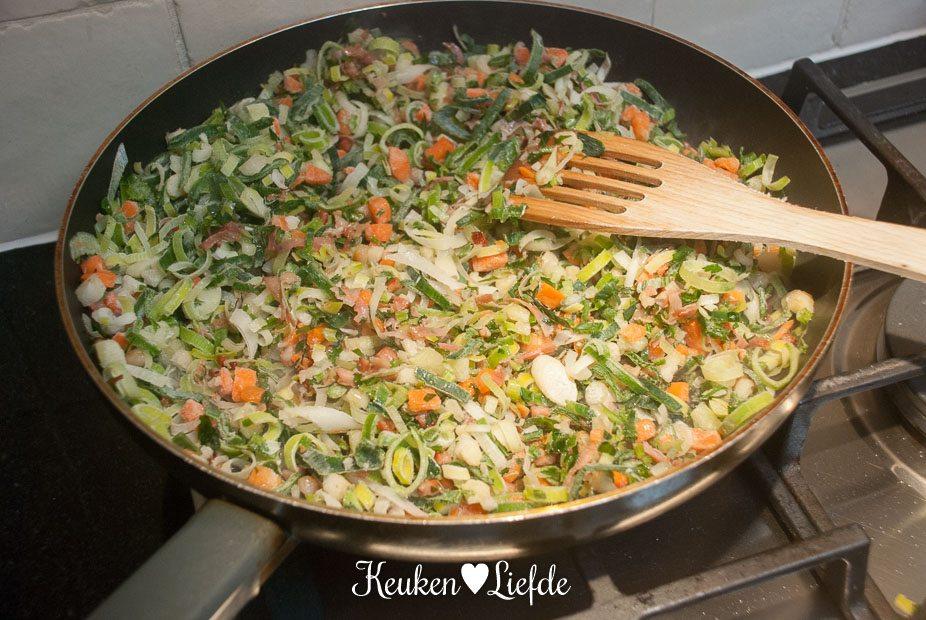 Hollandse nasi met soepgroenten-3386