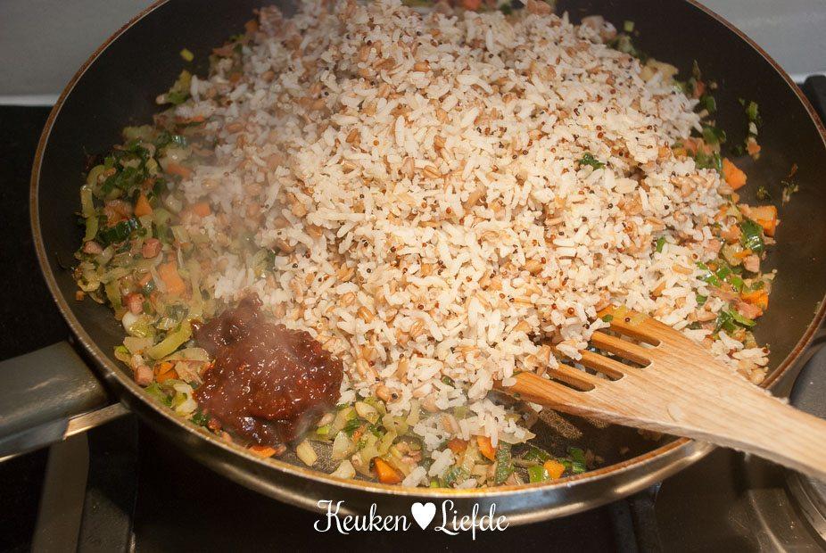 Hollandse nasi met soepgroenten-3388