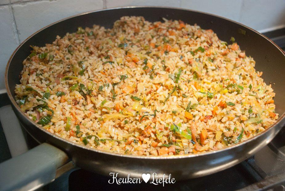 Hollandse nasi met soepgroenten-3390