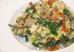 Italiaanse spinaziestamppot