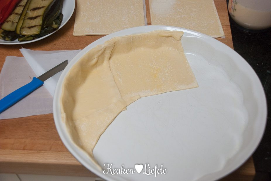 Quattro formaggi quiche met gegrilde groenten-3323