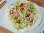 Lunchwrap met Hollandse garnalen
