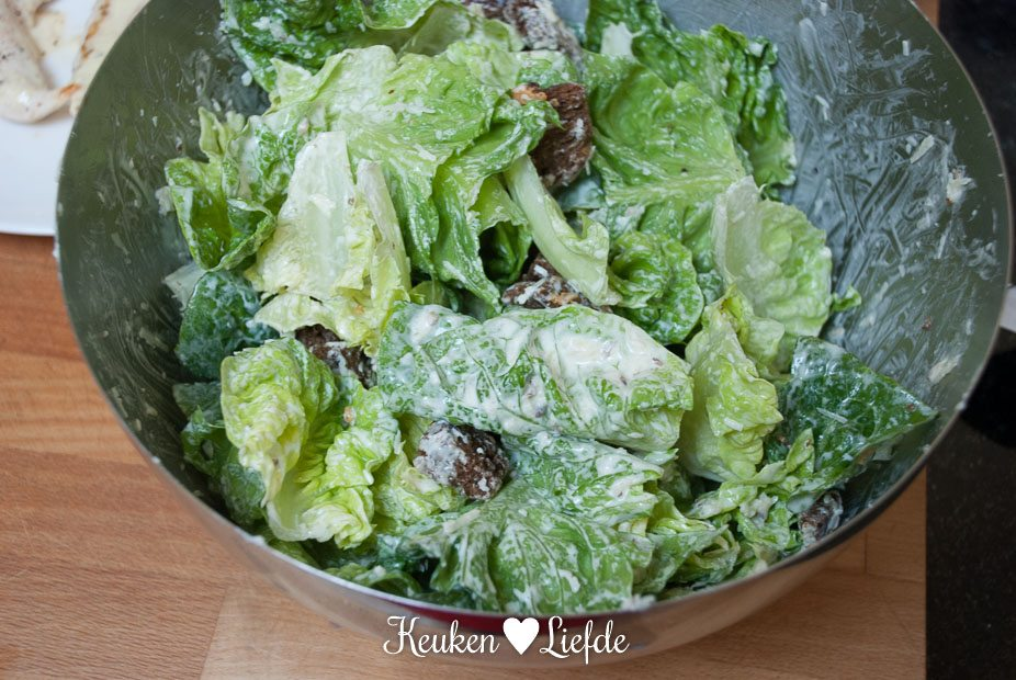 Caesar salade met kip-4684