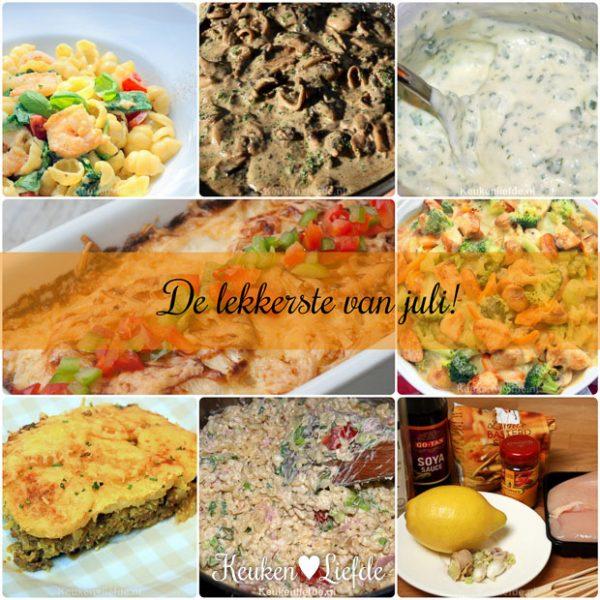 De lekkerste recepten van juli!