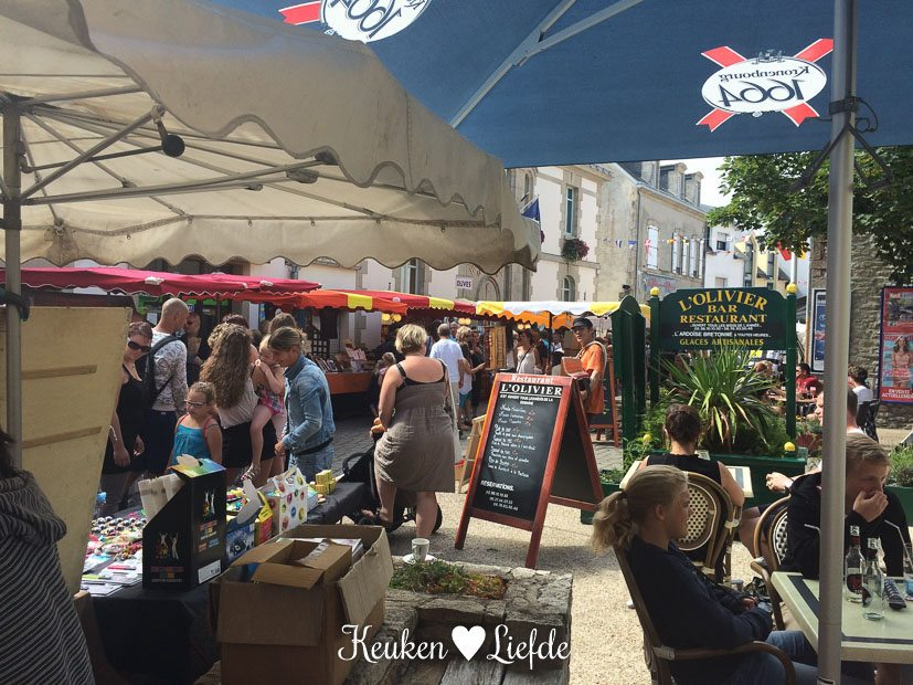 Markt in Guilvinec