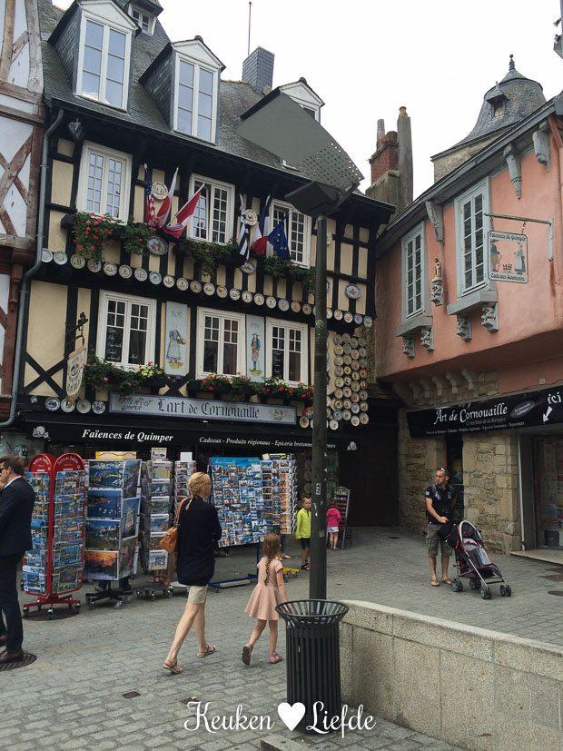 Winkeltjes kijken in Quimper