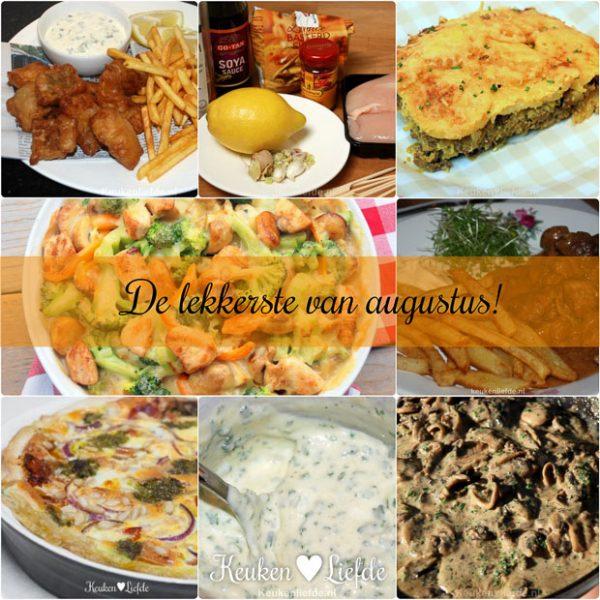 De lekkerste recepten van augustus!