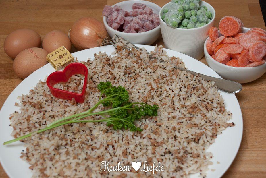 Gebakken rijst-5211