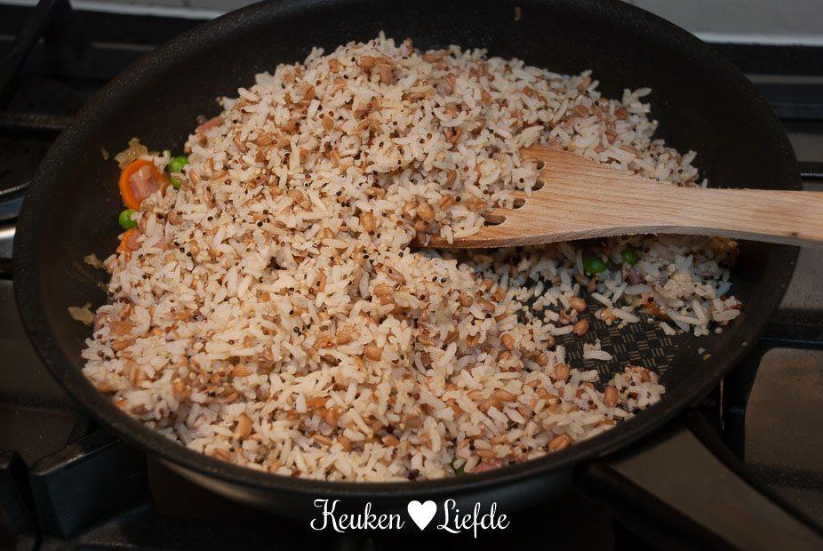 Gebakken rijst-5217