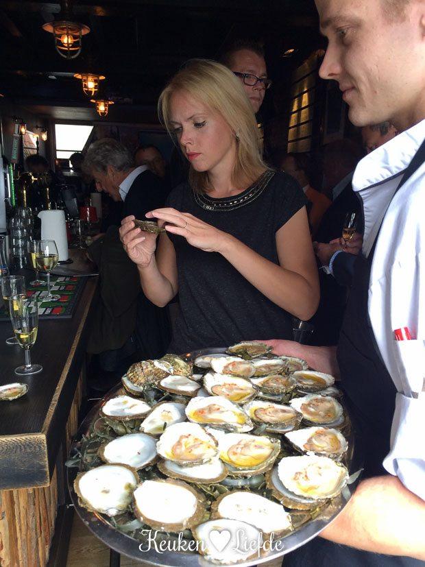 Opening Nederlands Oesterseizoen 2015 + oesterrecept Jannis Brevet