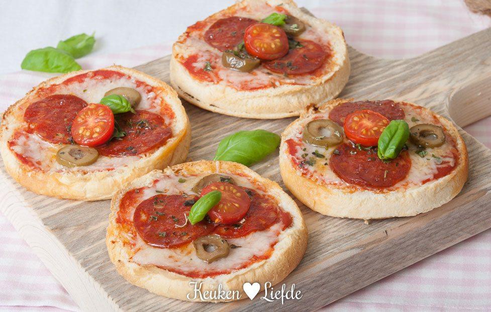Pizza beschuitbollen