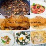 Top 7 best bekeken spijs-en-wijngerechten