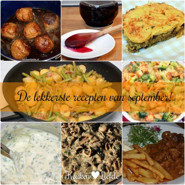 De lekkerste recepten van september!