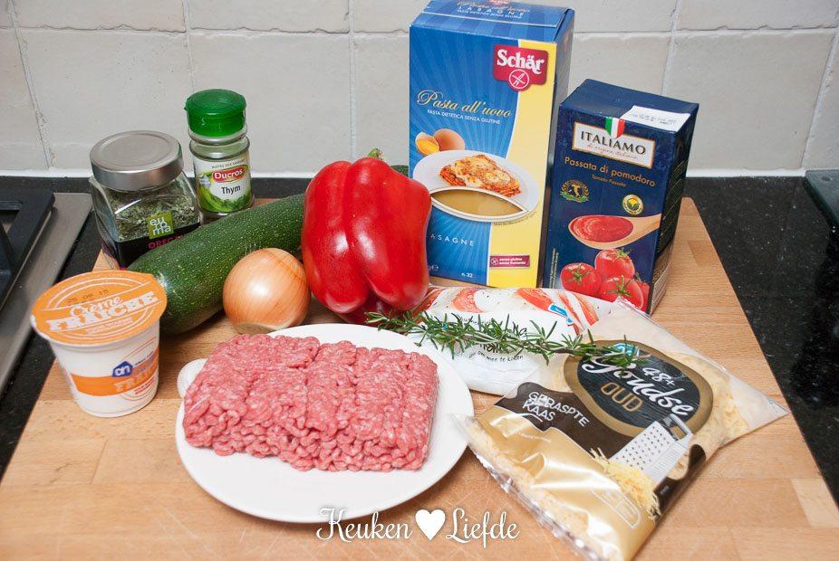 Glutenvrij genieten - lasagne-5557