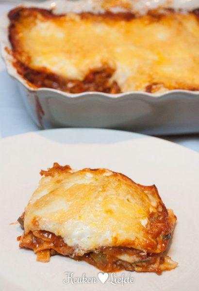 Glutenvrij genieten: lasagne