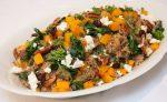 Quinoa met pompoen en spinazie