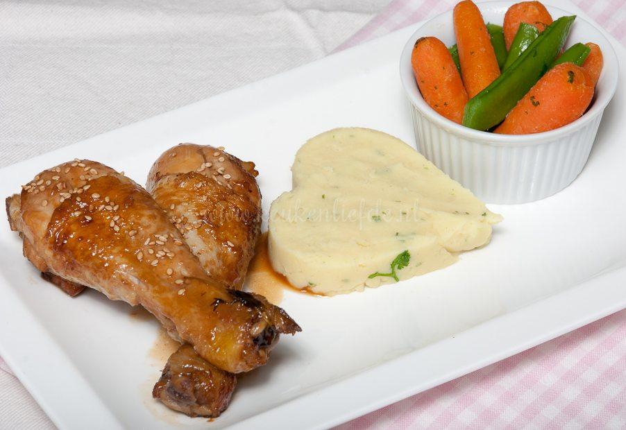 Speels & Smakelijk: sticky kip