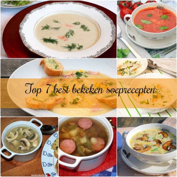 Top 7 best bekeken soeprecepten