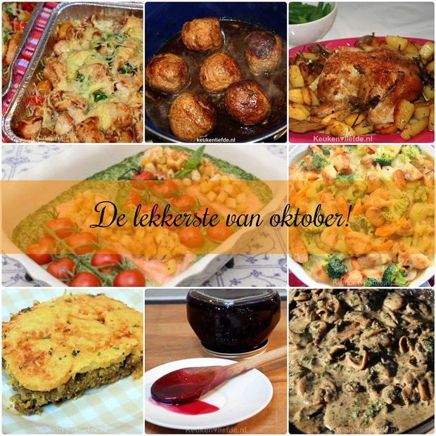 De lekkerste recepten van oktober!