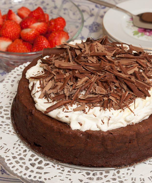 Glutenvrije chocoladetaart -6343