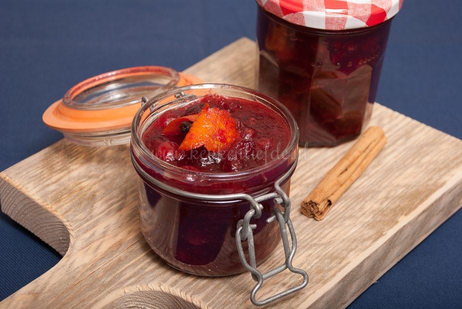 Cranberrysaus (voor bij vlees of wildgerechten)