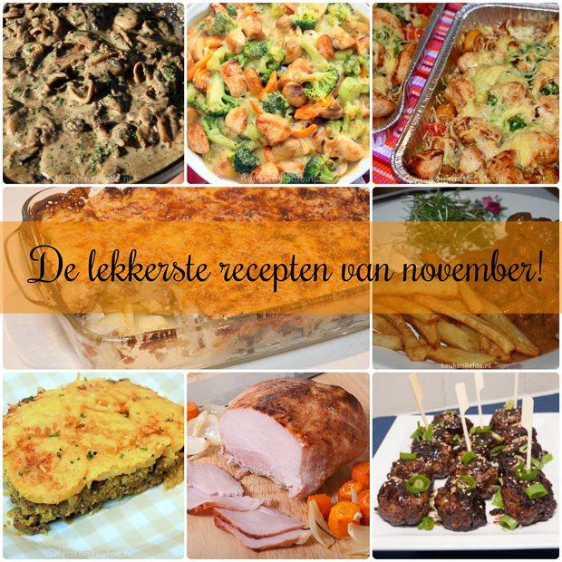 De lekkerste recepten van november!