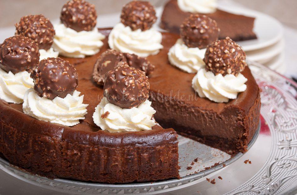 Ferrero Rocher taart