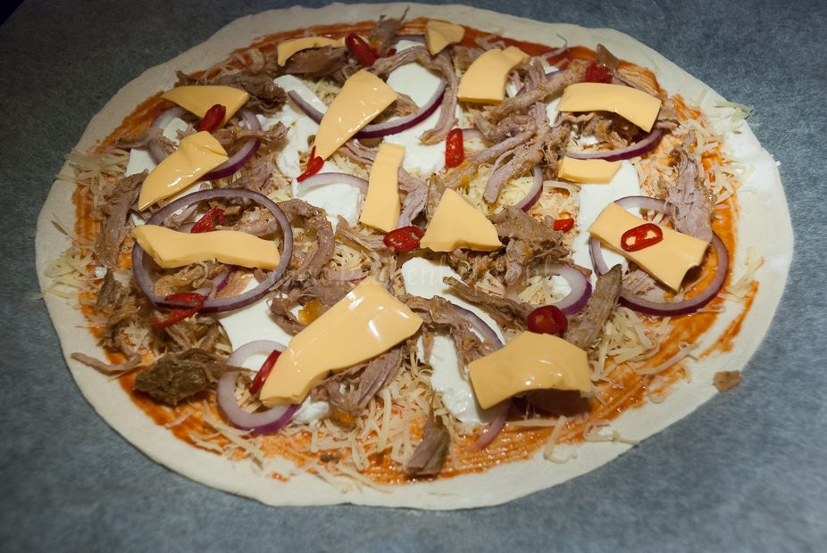 Pulled pork pizza-6364