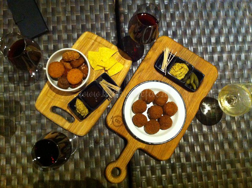 Borrelen in Timber's Brasserie