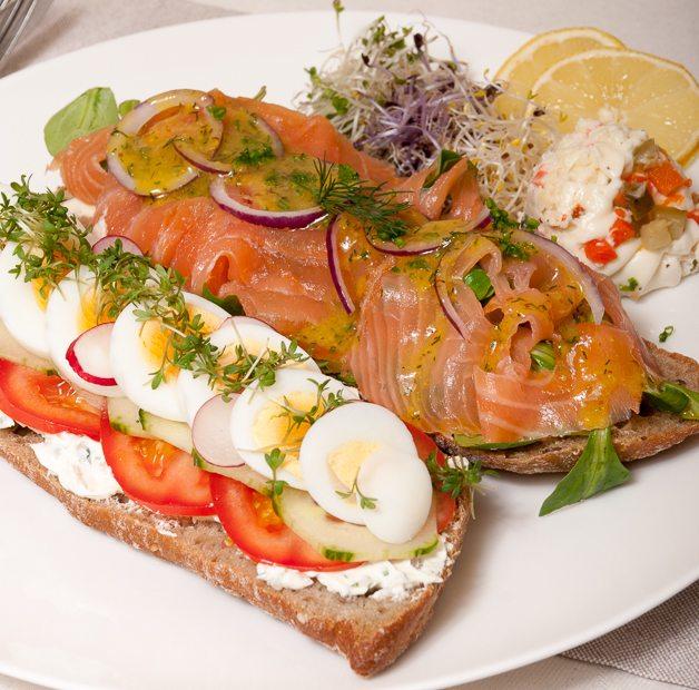 Mieks Special: broodje zalm deluxe