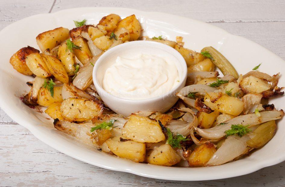 Aardappel en venkel uit de oven met aioli-8427