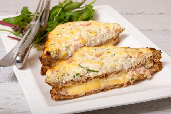 Slanke croque-monsieur