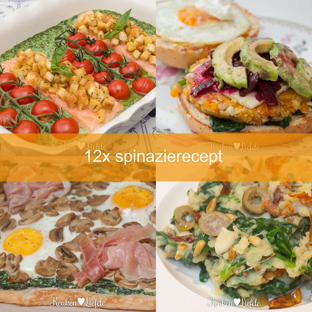12x spinazierecept