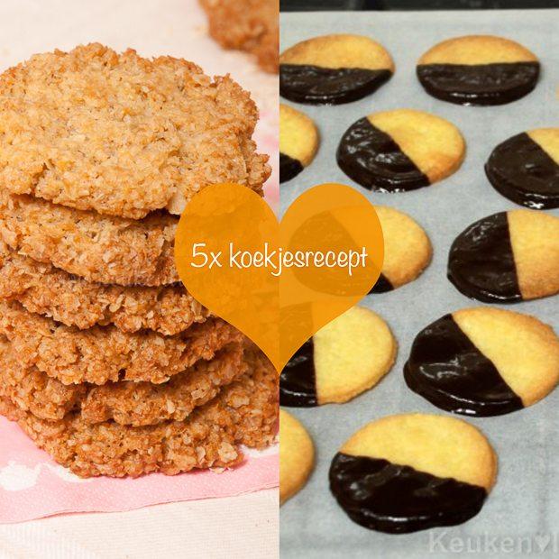 5x koekjesrecept